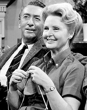 MacDonald Carey & Frances Reid as Dr. Tom & Alice Horton - Days of Our Lives  -  NBC  -  both played those roles from 1965 until their deaths