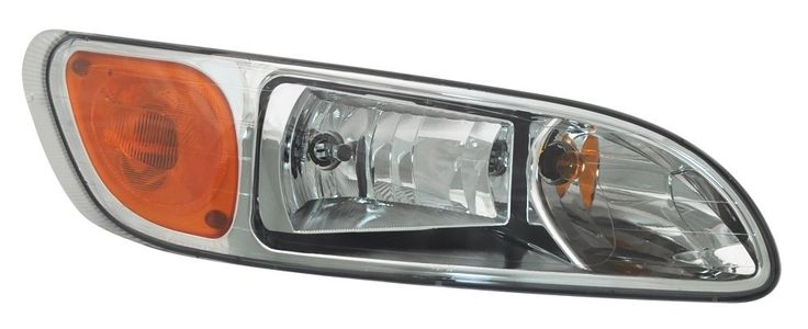Headlight Peterbilt 387, 386 Passenger Side