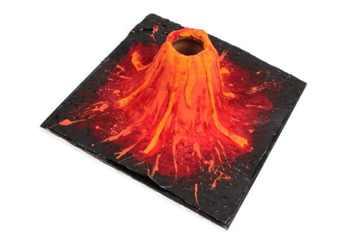 Easy Volcano Experiment