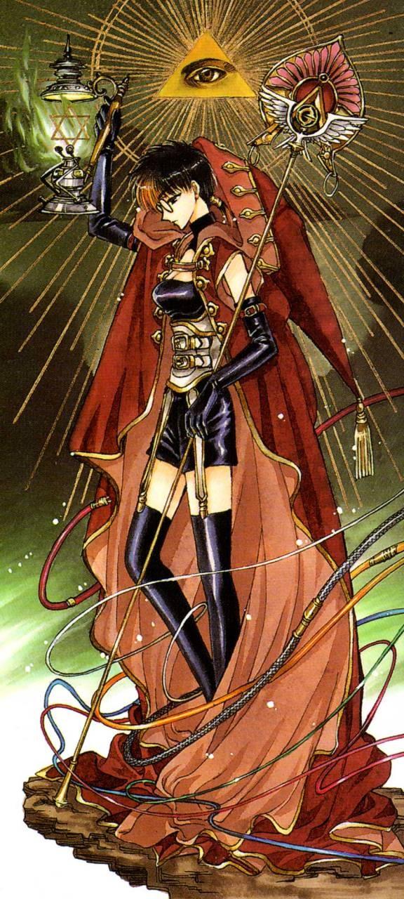 CLAMP X 1999 tarot art