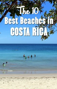 list of the best beaches in Costa Rica