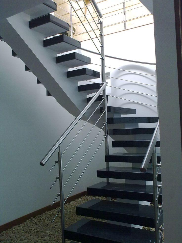 Las escaleras se pueden convertir en el punto focal del diseño interior.