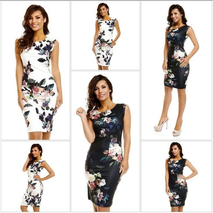 Bloemenprint Jurken www.emeralbeautylife.nl  #fashion #kleding #trend #bloemenprint #jurkjes
