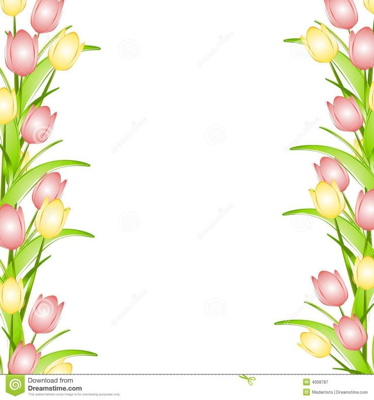 pink-flower-border-clip-art-pink-yellow-spring-tulips-flower-border ...