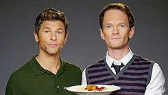 "Neil Patrick Harris And David Burtka Reenact The Spaghetti Scene From ""Lady And The Tramp"""