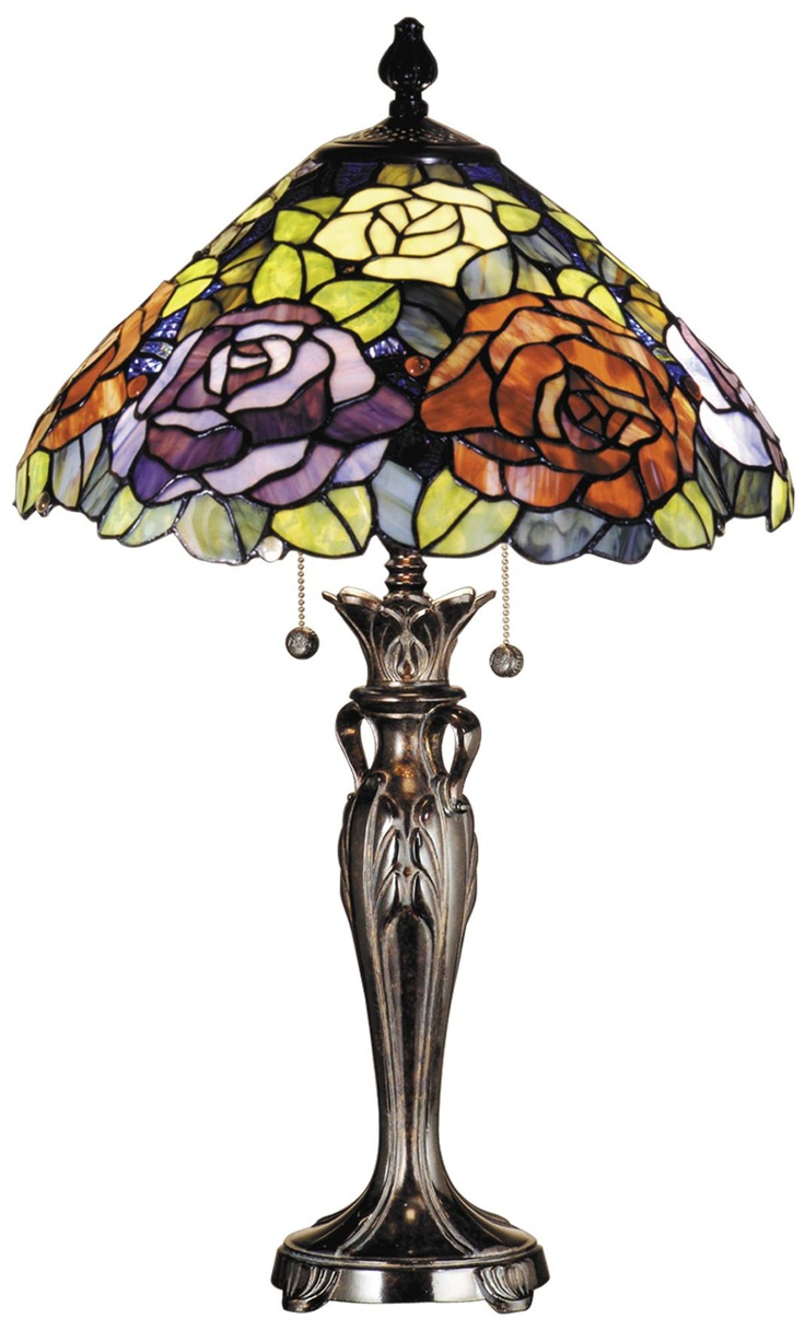 368 best tiffany lamps images on pinterest tiffany lamps vintage dale tiffany battersby art glass table lamp aloadofball Image collections
