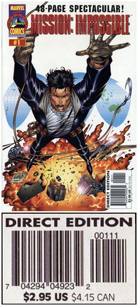 Super Rare Mission Impossible #1 Direct Unedited Error Edition. Click the pic and find out more...