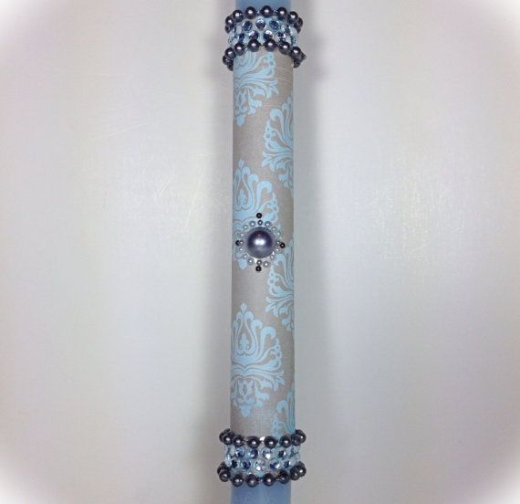 Greek Easter Candle (Lambatha) on Etsy, $25.00