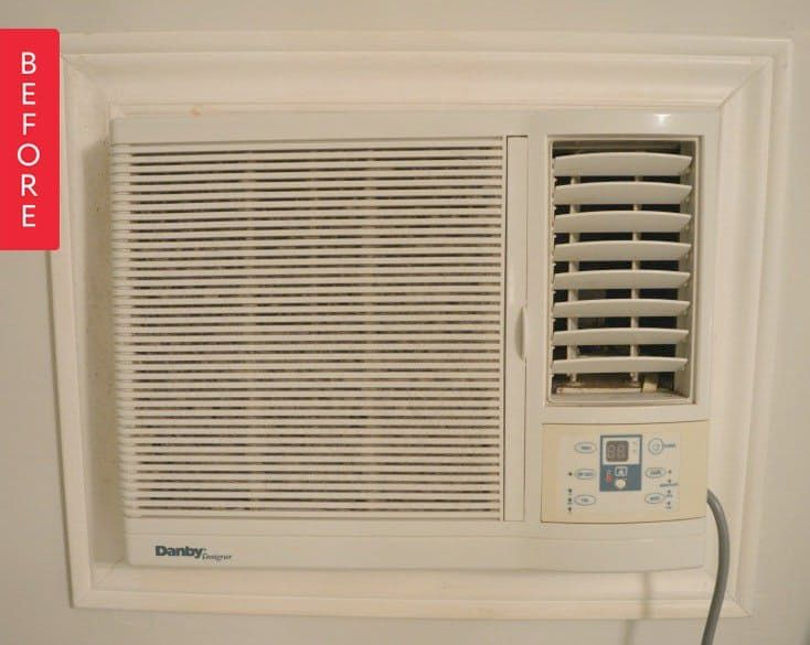 Before & After: An Adorable Air Conditioner (You Read That Right)