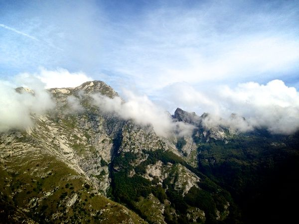 a little walk in the Apuans Alp