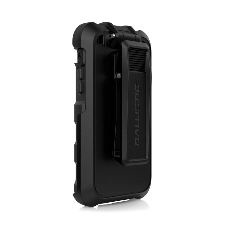 Ballistic TC1553-A06N Hard Core Tactical Case with Holster for Apple iPhone 6/6S - Black