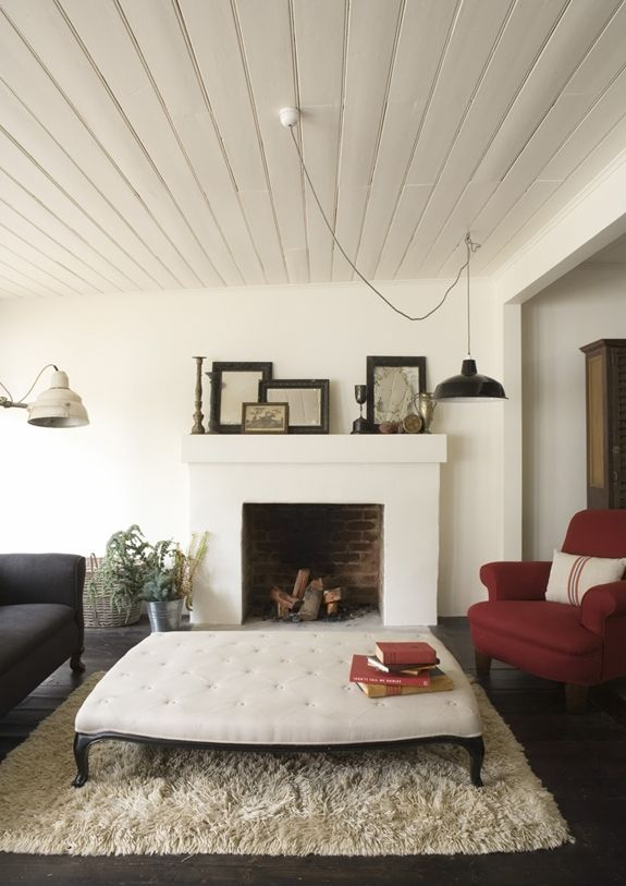 Love the Hanging light fixture in a Guest Cottage | Brunch at Saks