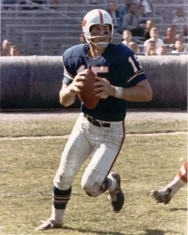 Quarterback Jack Kemp of the Buffalo Bills in the 1960s.