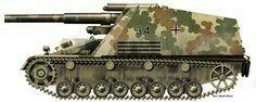 Hummel - german self propelled artillery, pin by Paolo Marzioli