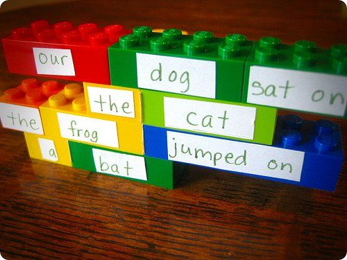 LEGOS Make Poetry Fun (Photo from Small Types)