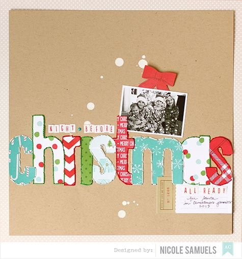 1000+ images about Scrapbook Christmas on Pinterest | October ...