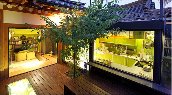 On Location - In Seoul, a Traditional House Adopts Modern Style - NYTimes.com