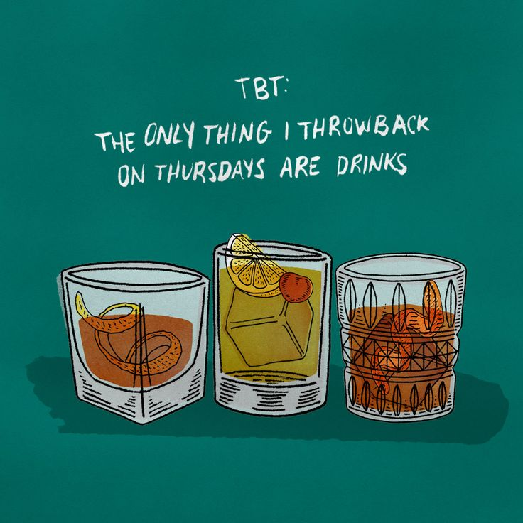 Throwback Thursday for booze lovers