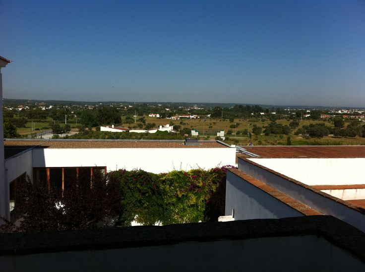 The view from the room balcony at Convento do Espinheiro, Évora. May 2011