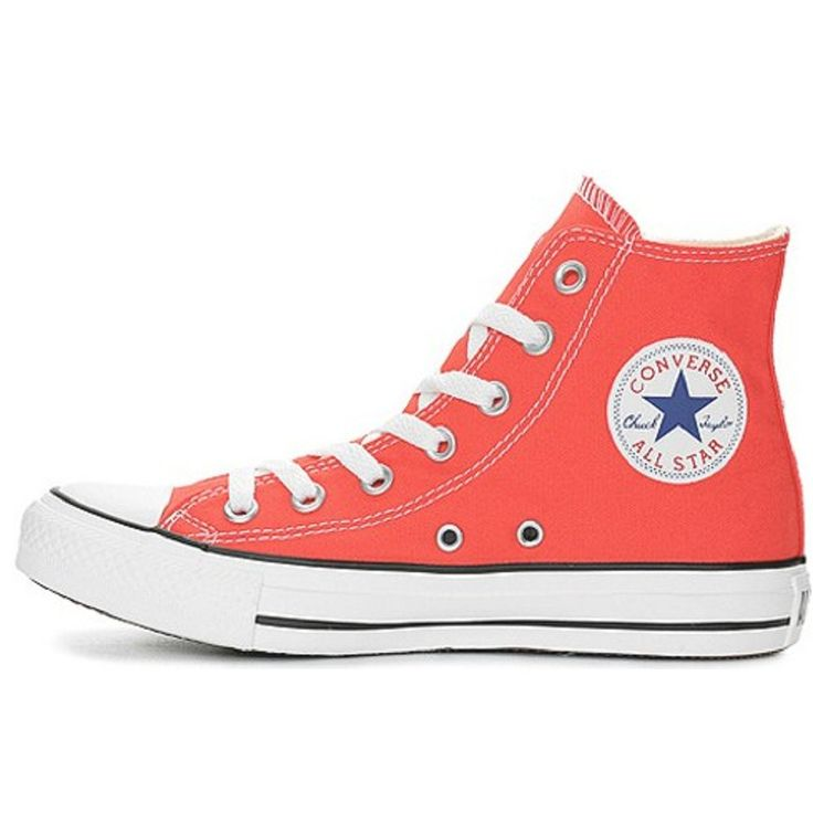 Red Converse Shoes for Girls | ... Converse › Converse Boys/Girls Baseball Boots - Cherry Tomato Red