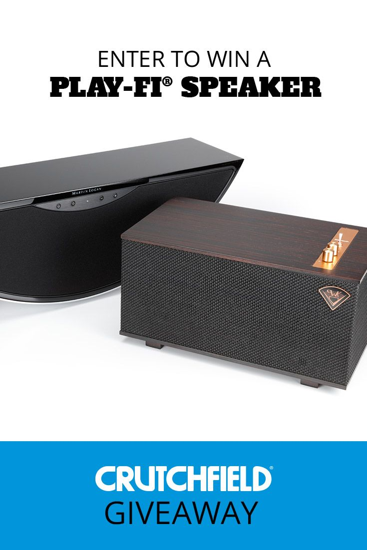 Win 1 of 7 DTS Play-Fi Speakers from Crutchfield