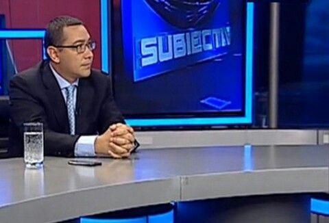"""Declaratiile Premierului Romaniei, Victor Ponta, in cadrul emisiunii """"Subiectiv"""", Antena 3- INTEGRAL  """"Sper ca la anul, pe vremea aceasta, Băsescu să se pregătească de pensie, pe care tot bieţii români o vor plăti.  Dl presedinte va face scandal din orice. Eu am obligatia sa construiesc alaturi de colegii mei din USL. E un an dificil, multe lucruri vor fi afectate de aceasta atitudine.  Presedintele mi-a transmis ca vrea sa discute despre politica externa si justitie, motiv pentru care i-am…"""