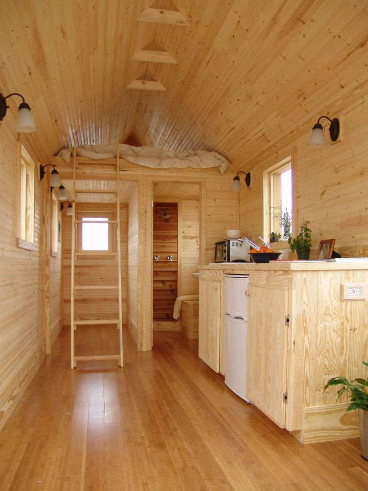 Julie Martin's House To Go - Fresh Start tiny home, (pull with 3/4 ton truck, att. 2 5/16th trailer hitch ball)