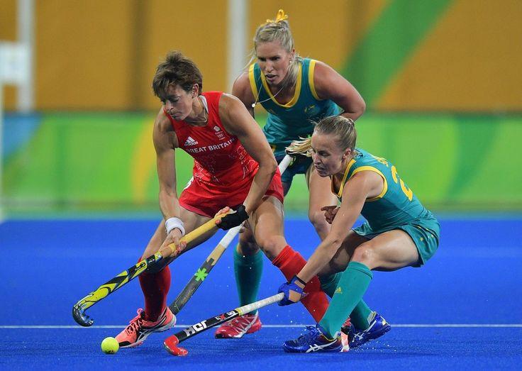 DAY 1:  Women's Field Hockey - Australia vs Great Britain