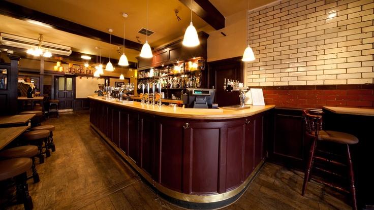 SD The Grapes Oxford   Traditional Pub Design   Simple Simon Design Ltd
