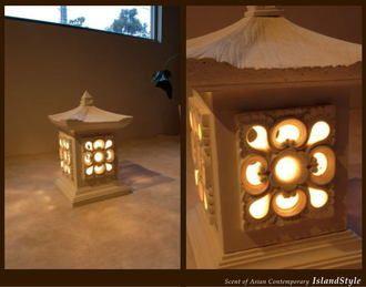 auc-islandstyle | Rakuten Global Market: Modern Asian interiors and Asian lighting, indirect lighting, Asian lamps リゾートアジアンテイスト Bali and garden (outdoor) Stone garden lights 1