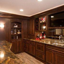 Entertainment Bar For Lower Level. Modern Design LLCu0027s Design Ideas,  Pictures, Remodel,