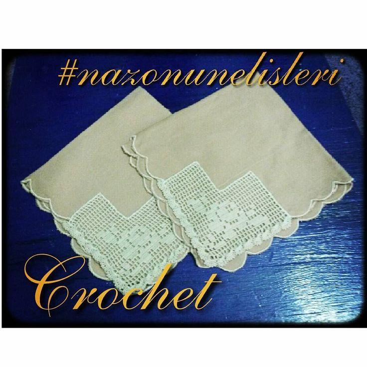 Tig işi köşe işlemeli kumaş peçete. .. #tig  #tigisi #craft  #örgü #orgu  #knitting #crochet #crocheting #crochetlove #nazonunelisleri #handmade #elisi #iplik #rope #gul #rose #homesweethome #evimevimgüzelevim #homedecor #homedesign #homedecoration #ceyiz #oya #instaknitting #instacrochet by nazohandmade http://discoverdmci.com