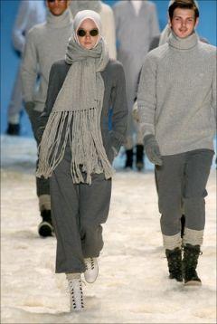 Hijab fashion show.