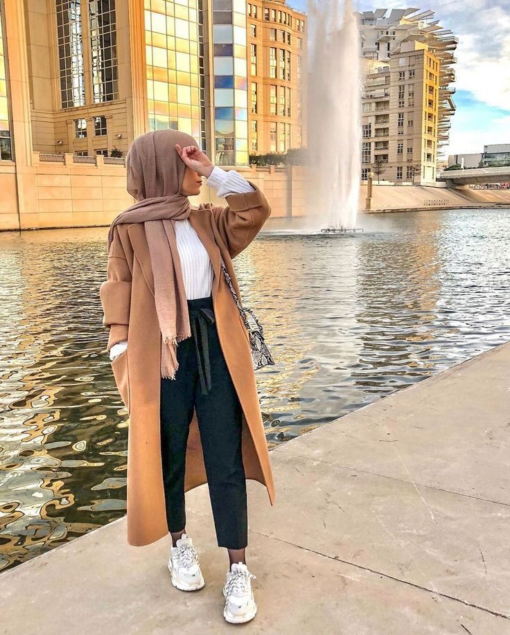 SIMPLE OUTFIT .. 😍❤️ My new coat za … – #hijab #manteau #My #new #Outfit