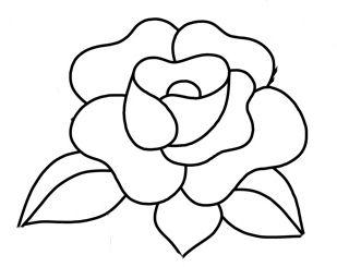 Applique - Rose