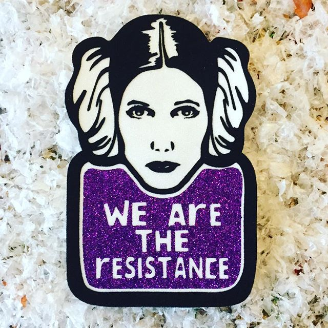 WE ARE THE RESISTANCE I'm doing a series of patches inspired by the posters that I saw in the Women's March, some were very powerful and I want to make their versions as patch and continue to offer you some tools to smash the patriarchy I hope you like them Fluorescent Patch ⚡️IRON-ON⚡️ Click the link in bio to get your own patch or DM to ask me for my paypal Click en link en bio para comprar o DM para preguntar por mi paypal . . . www.bicharraca.com #bicharraca #b