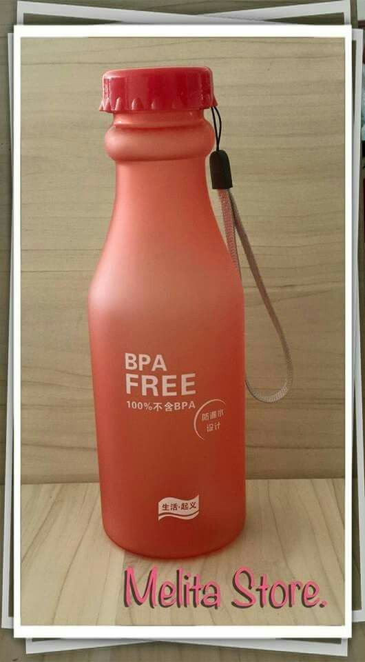 Botella para agua.
