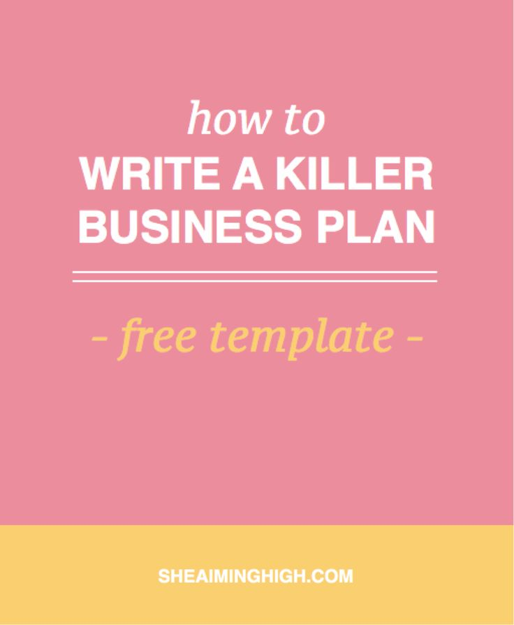 How To Write A Business Plan That Will Make You Stand Out