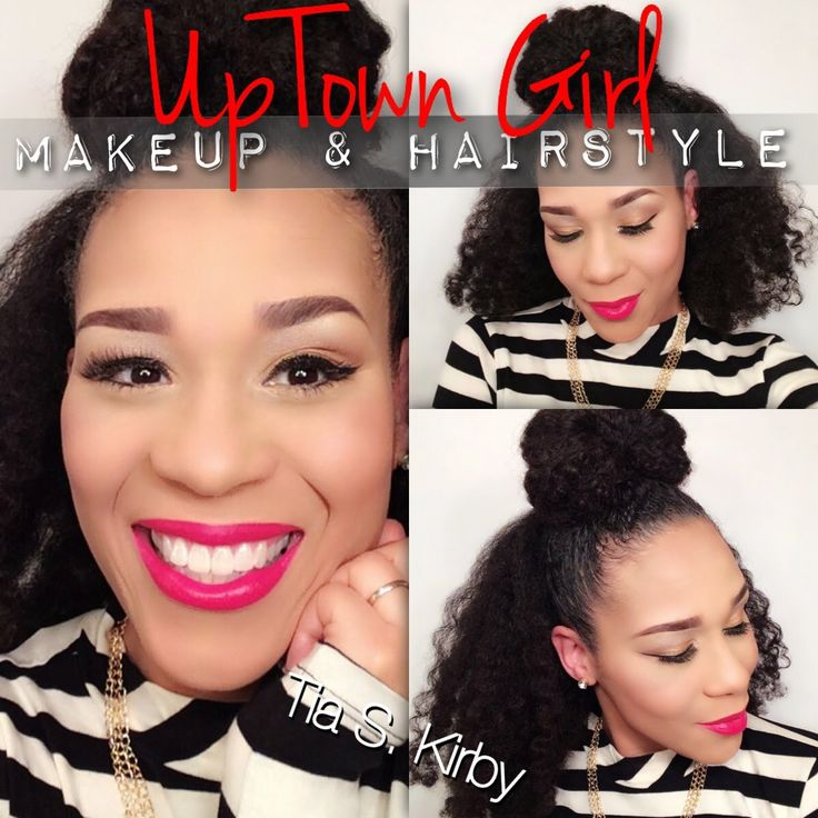 Uptown Makeup Hairstyle Valentine S Edition Qredew Q Redew Coveted Curls Pinterest And Natural Hair Journey