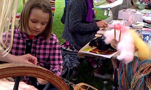 International work shops for children #HandicraftLeader  Estonian event in Pöltsamaa .