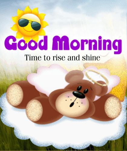 Good Morning Rise And Shine In German : Best images about good morning on pinterest