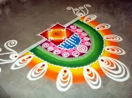 simple and easy rangoli designs for home - Google Search