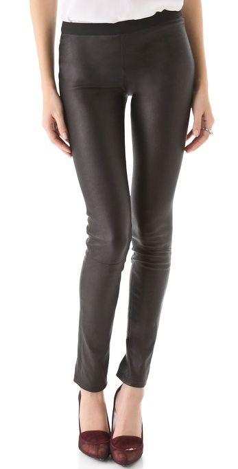 Perfect leather pant- by Theory: Theory Leather, Buy Theory, Pants 835 00, Leather Skinny, Ima Danishes, Danishes Leather, Leather Pants, Fashion Finding, Theory Ima
