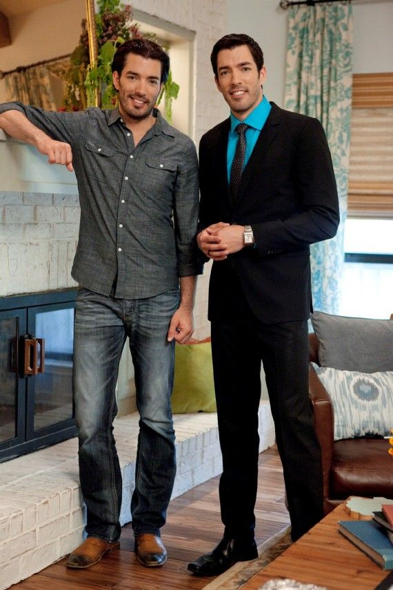 "Jonathan and Drew Scott-The hottest twins I've seen in a long time. :) Damn they are gorgeous!! I love watching them on HGTV's ""Property Brothers""."