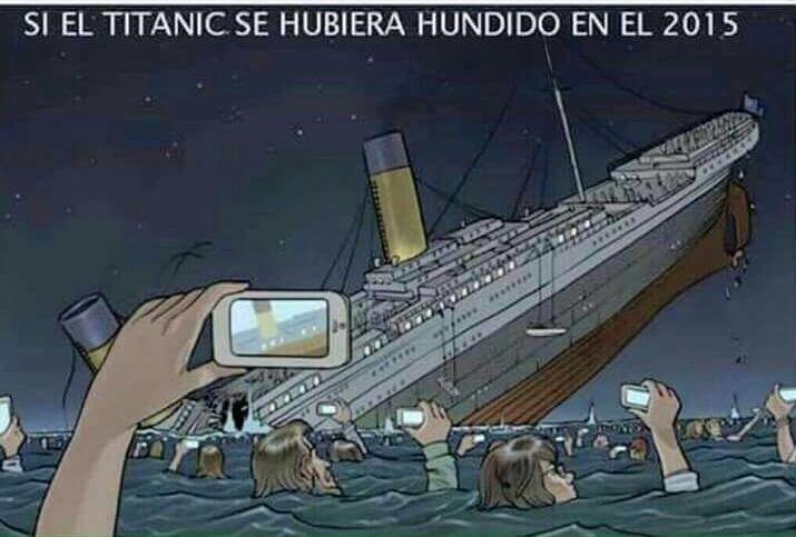 Si el Titanic se hubiera hundido en el 2015