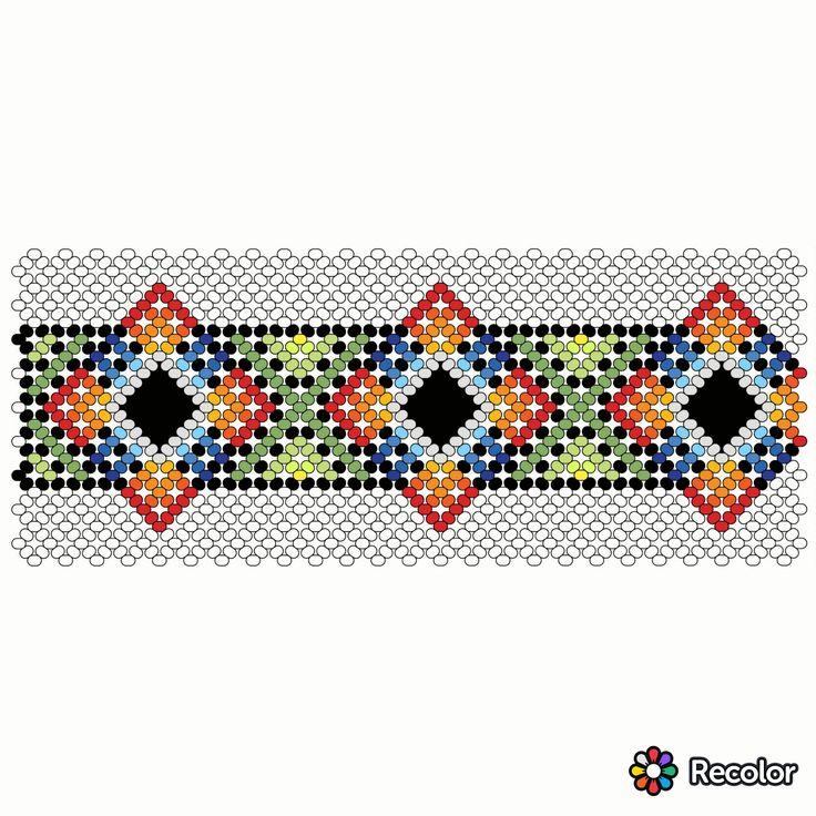 Huichol beading free pattern