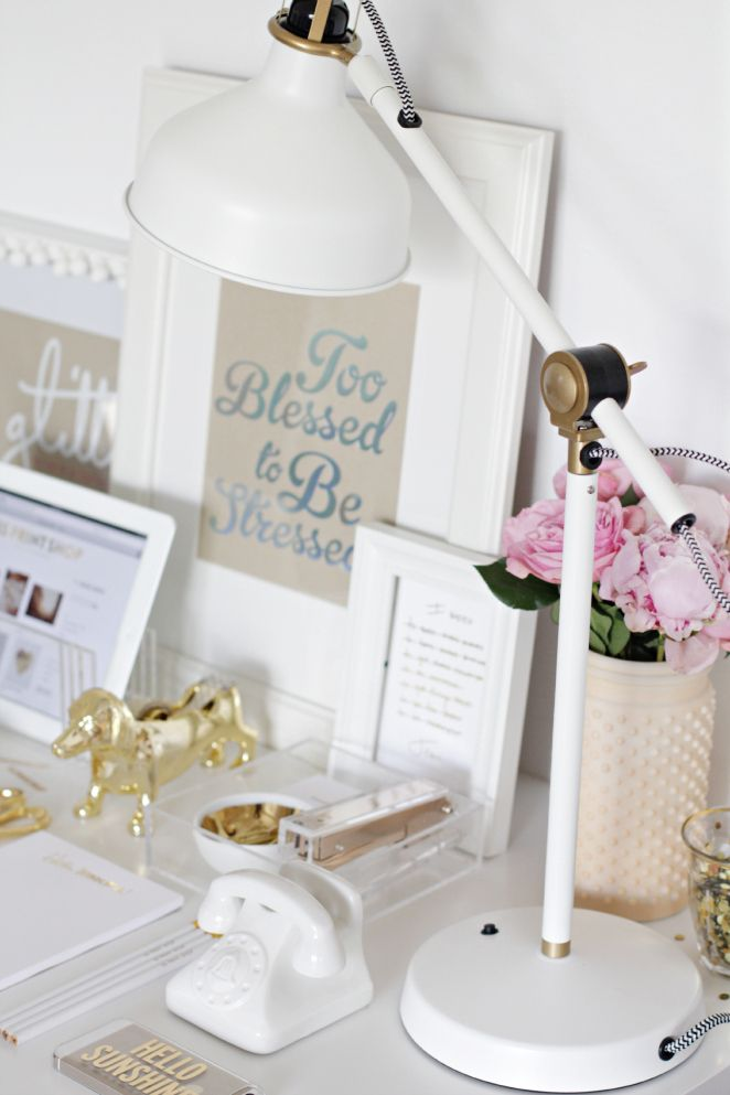 25 best ideas about Home Office Accessories on Pinterest  Gold