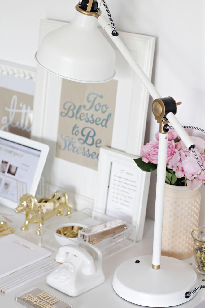 25 best ideas about Gold Desk Accessories on Pinterest