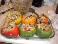 Committed to Get Fit: Eat Clean Stuffed Peppers
