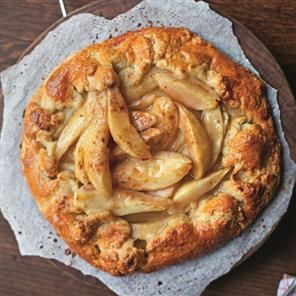 Rustic pear tart Recipe | delicious. Magazine free recipes